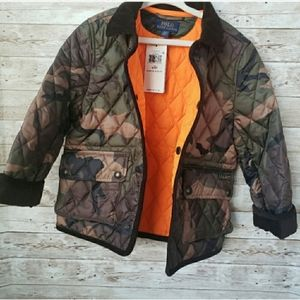 Ralph Lauren Polo Quilted Bomber in Camouflage